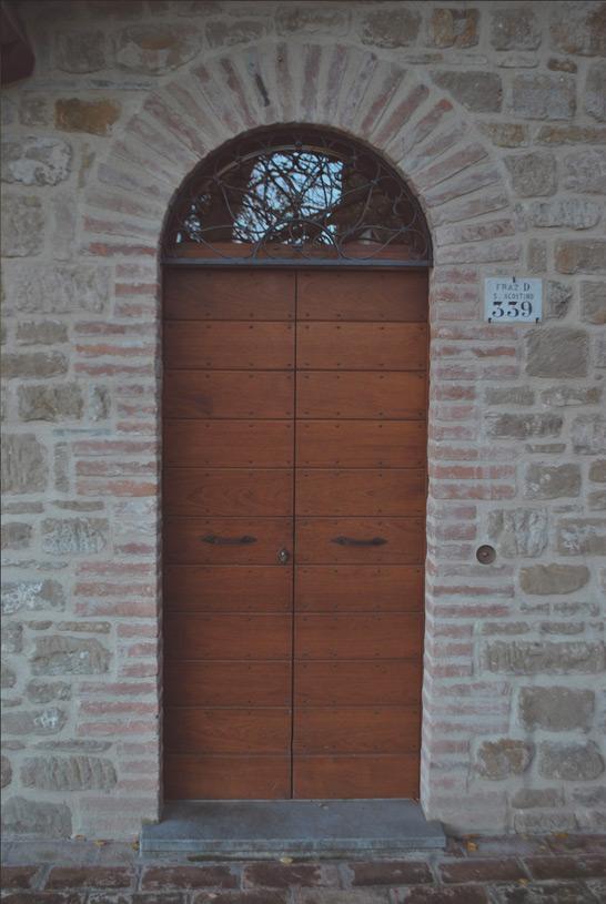 """The Forno"" apartment entrance"